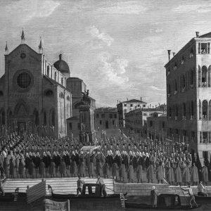 Pinacoteca Querini Stampalia - I funerali del doge ai Santi Giovanni e Paolo - Gabriele Bella